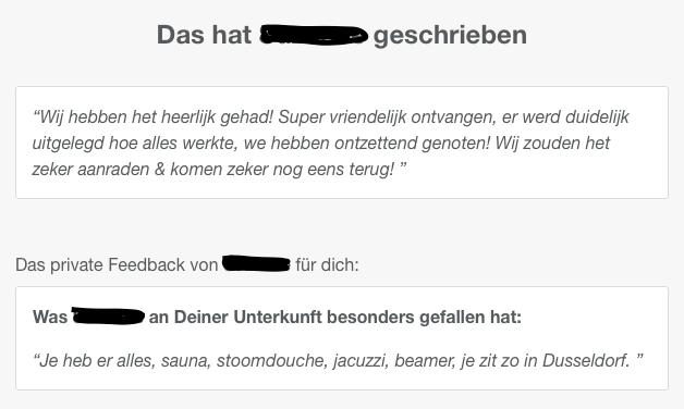 airbnb Bewertung   Marcel Bruckmanns Spa